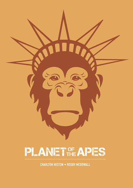 Planet of the Apes - Alternative Movie Poster
