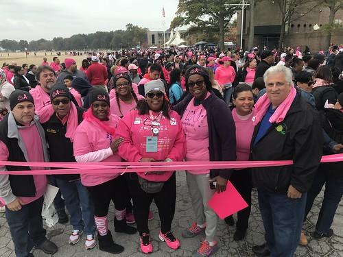 Breast Cancer Walk in the Bronx