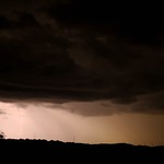 15. Oktoober 2019 - 20:50 - Thunderstorm over Latigo Ranch. Best when viewed in the large format for greater detail.
