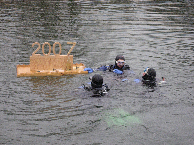 Neujahrstauchen 2007