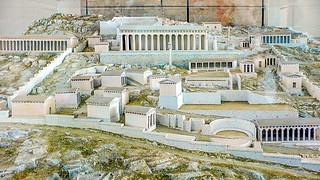 Modell Apollon-Heiligtum Delphi, 4. Jh. v. Chr.