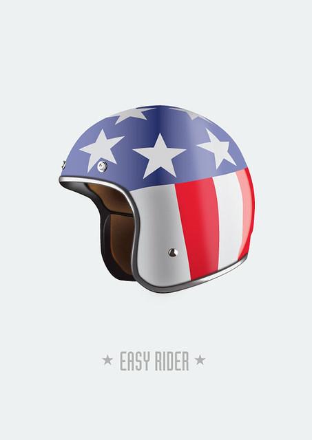 Easy Rider - Alternative Movie Poster