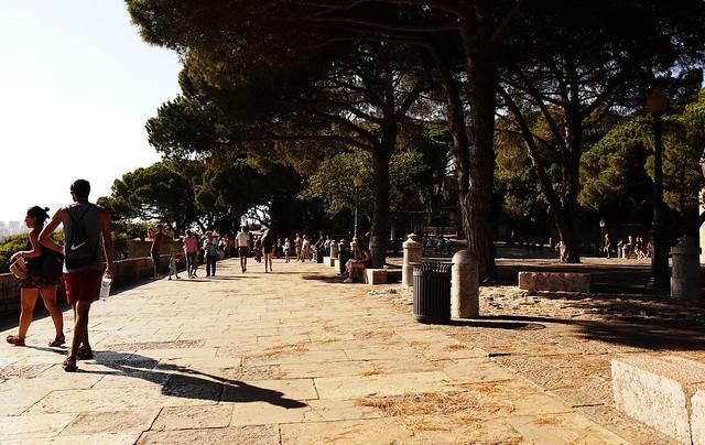 Jardim do Castelo de São Jorge