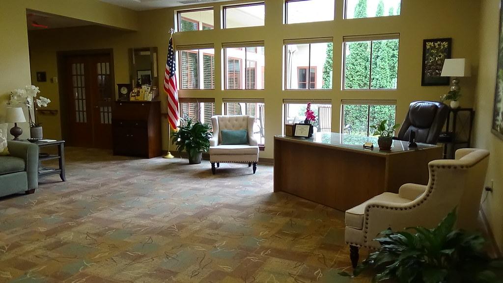Hospice Home Lobby