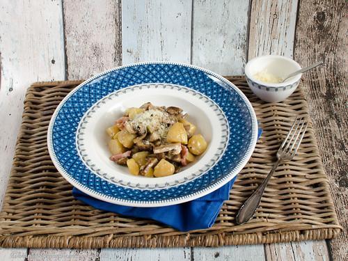 Champignon-Kartoffel-Pfanne (1)