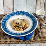 Champignon-Kartoffel-Pfanne