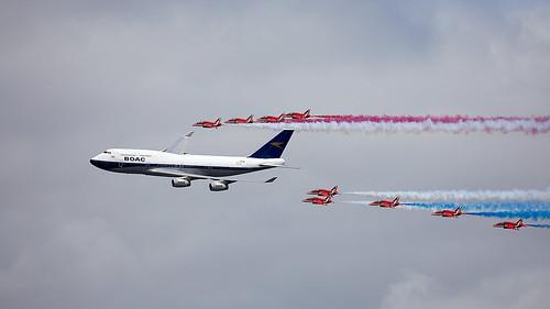 Reds & Retro BA 747