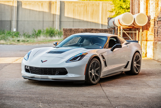 Cray Isurus Forged Monoblock on Chevrolet Corvette Grand Sport C7