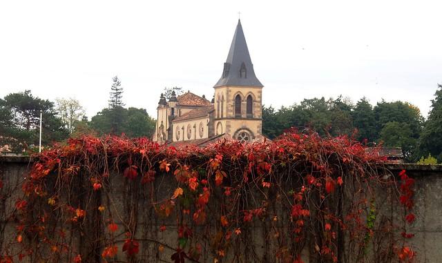 Church Mios , Gironde , France