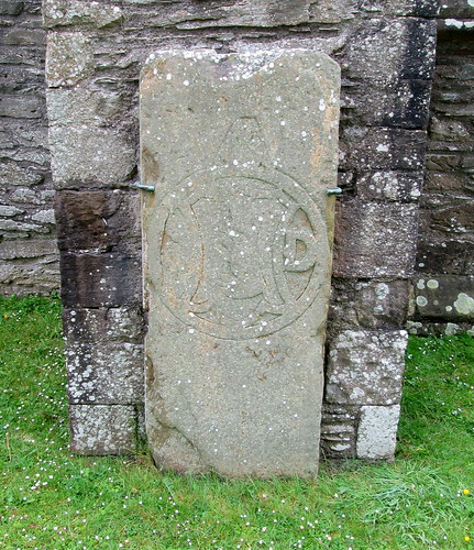 Carved Stone at Whithorn Priory