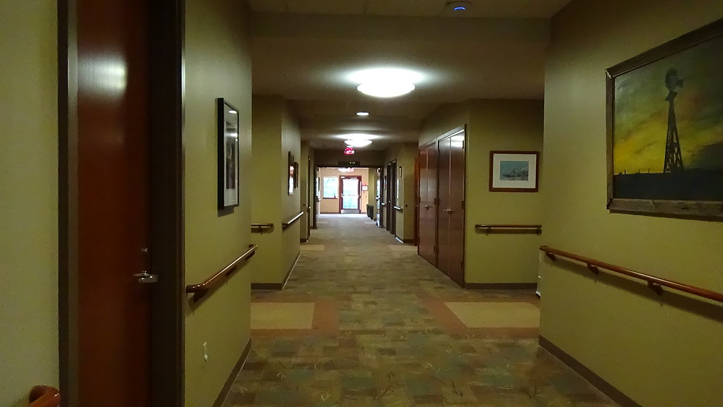 Hospice Home Hallway
