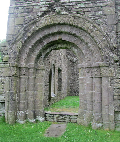 Doorway, Whithorn Priory