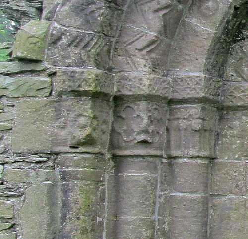 Whithorn Priory, Detail on Doorway