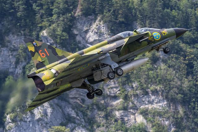SAAB AJS 37 Viggen - Swedish Air Force Historic Flight