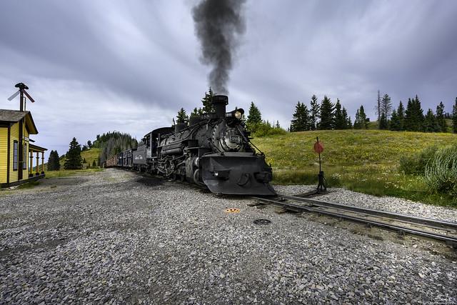 Cumbres & Toltec Scenic Railroad Chama - Colorado - USA