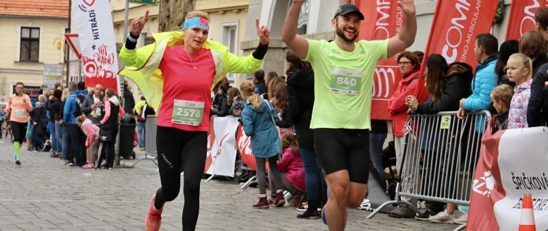 Šunka, šampáňo i dorty – Třeboňský půl/maraton překonával rekordy