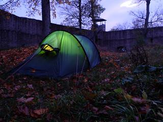 [Bikepacking Nordhessen] Belagerungssicherer Schlafplatz