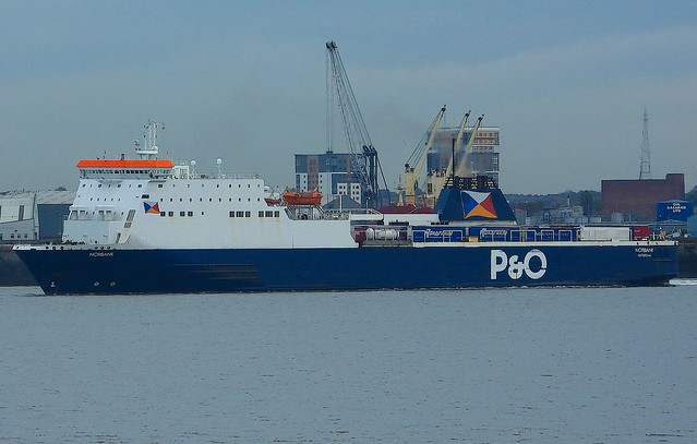 NORBANK P and O Ro-Ro Ferry