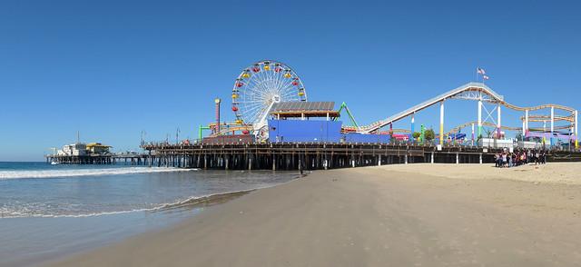 Santa Monica Pier.