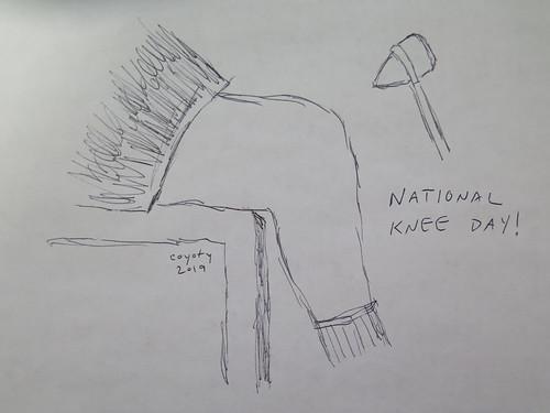 Inktober 22, 2019: National Knee Day