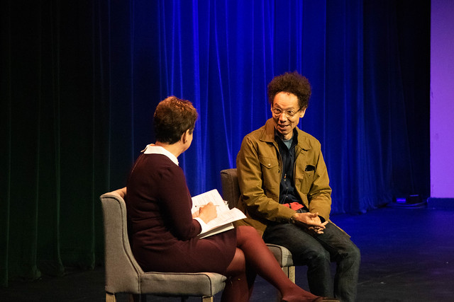 Malcolm Gladwell at Belmont 2019