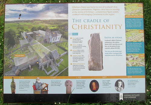 Information Board, Whithorn Priory