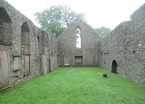 Whithorn Priory, Interior