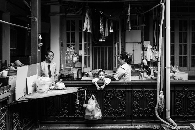 In the old French Concession, Shanghai