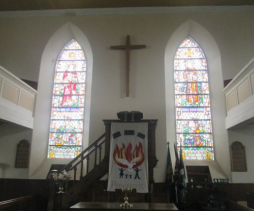 Stained Glass in Whithorn Parish Church