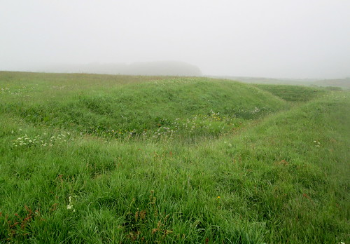 Ditch at Rispain Camp