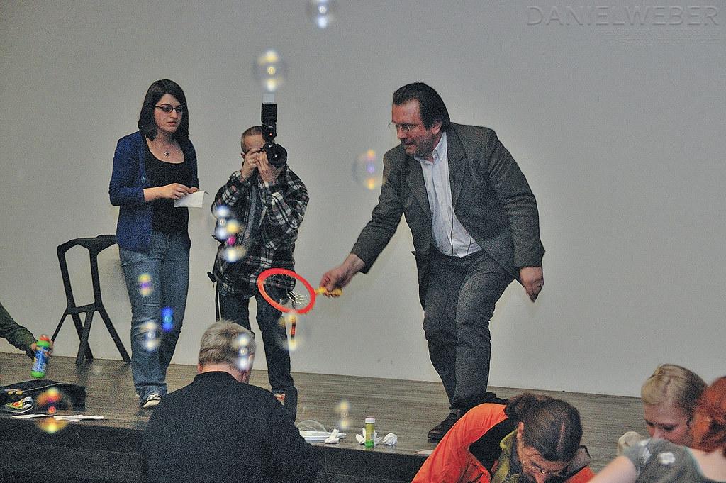 Flashmob Seifenblasen 2