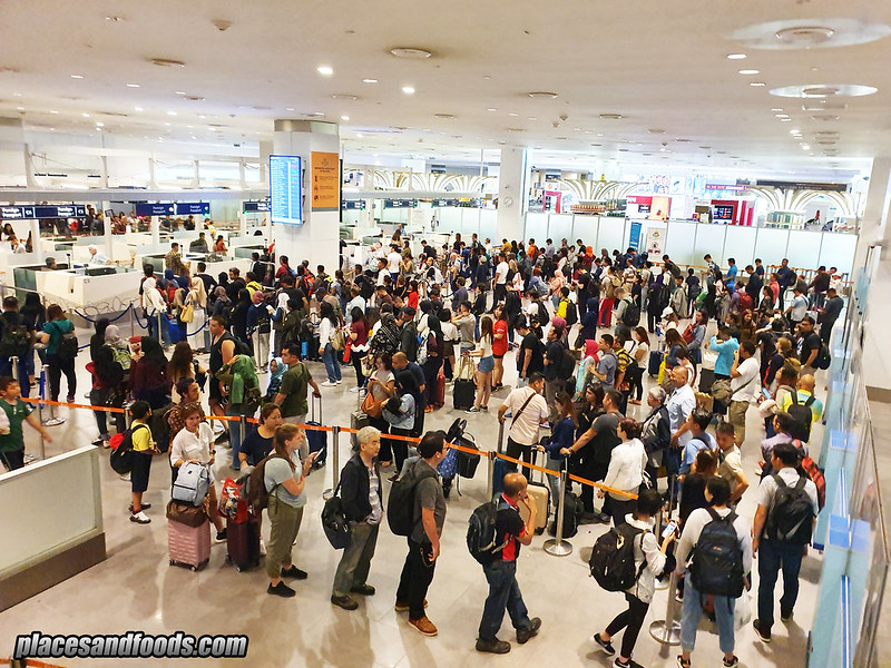 klia2 long queue