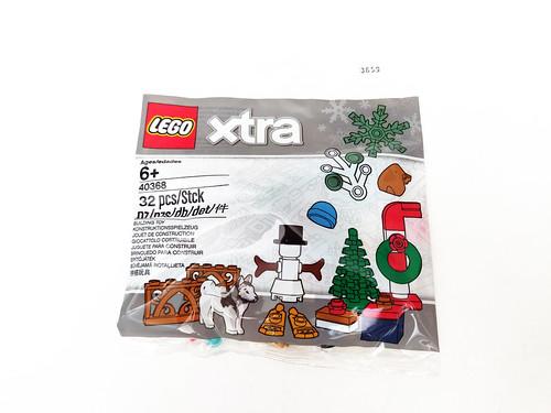 LEGO xtra Xmas Accessories (40368)