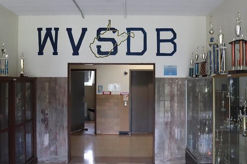 wvsdb acronym deaf school gymnastics trophy
