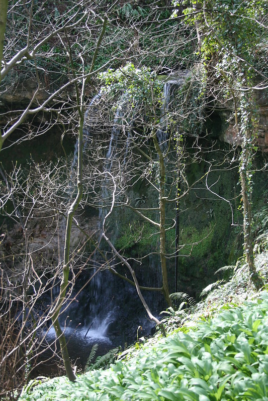 Waterfall at Bilsdean Burn