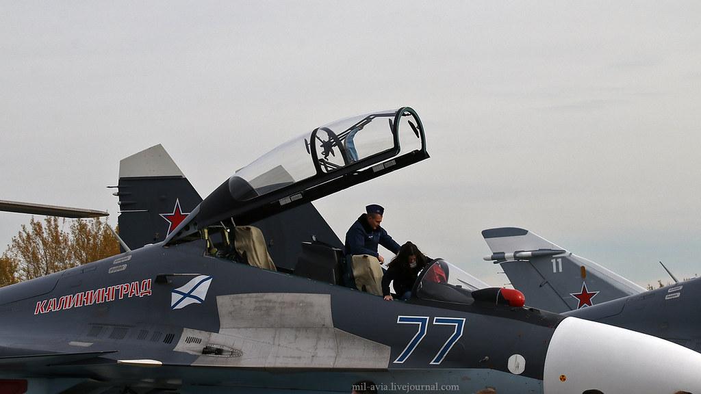 Su-30SM open cabin