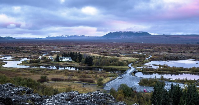 Overlook of Thingvellir National Park (explored)
