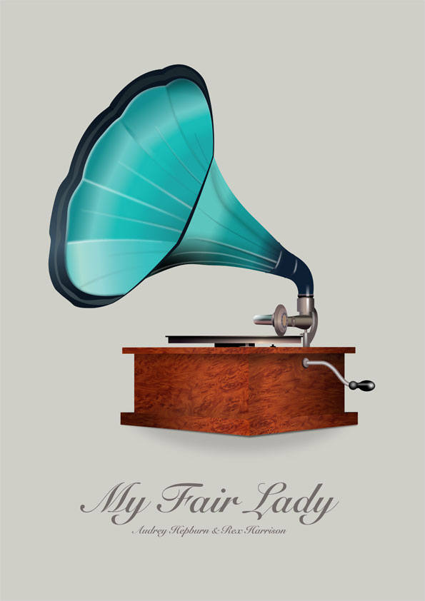 My Fair Lady - Alternative Movie Poster