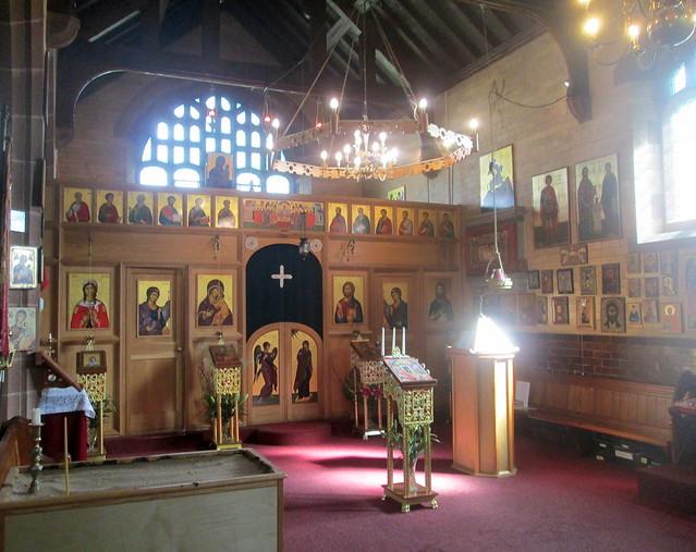 St Barbara interior, Chester