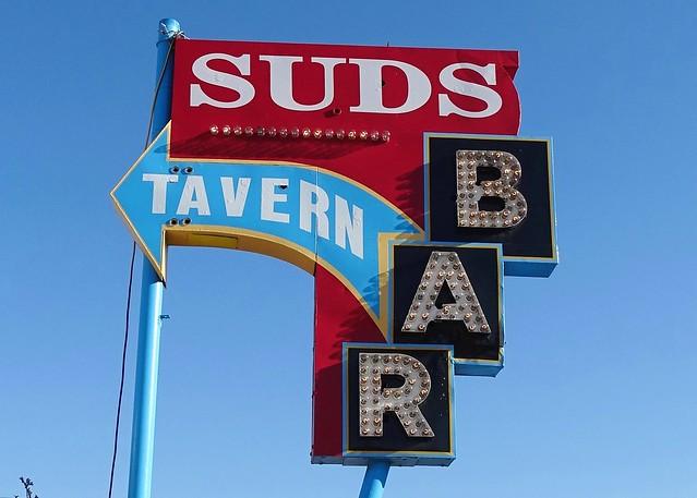 ID, Boise-U.S. 20 Suds Tavern Sign