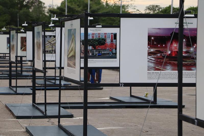 Exposição Manaus 350 anos - Ponta Negra