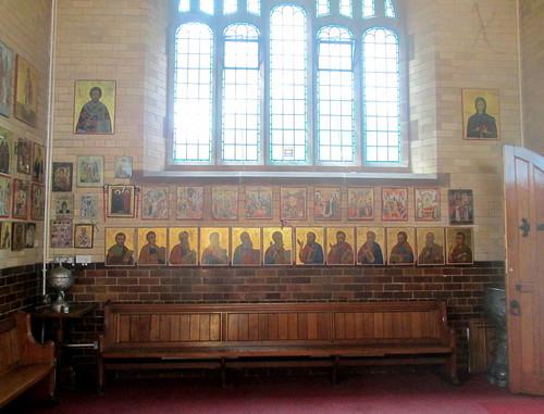 St Barbara interior, Chester, orthodox church