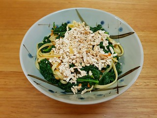 Noodles and Greens