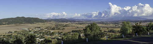 panorama landscape stitch australia lookout newsouthwales scenicview quirindinsw cloud mountains rural countryside view country olympus scene nsw ruralscene paulleader olympusem10