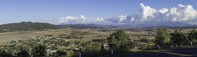 Scenic View - Who'd A Thought It Lookout - Quirindi NSW