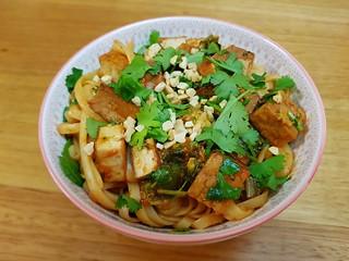 Hot and Sour Pad Thai Noodles