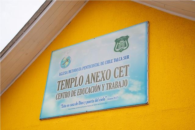 Nuevo Templo Anexo de la IMPCH Talca Sur en las dependencias de Gendarmería.