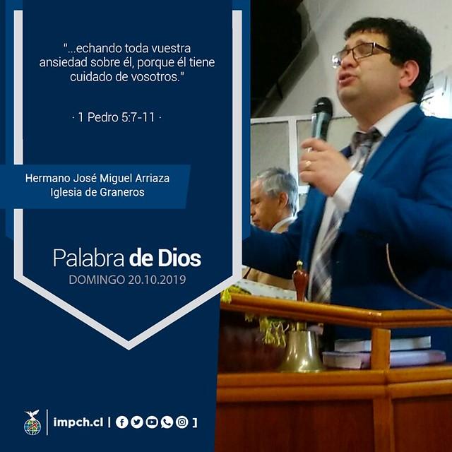 Palabra de Dios | Domingo  20 de Octubre 2019