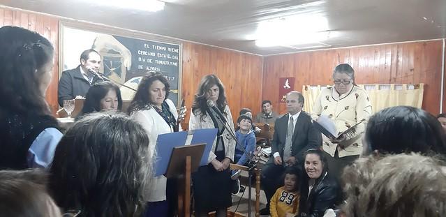"""Jehová te bendiga, y te guarde…"" Saludo a pastora Luz Pereira de IMPCH Papirúa"