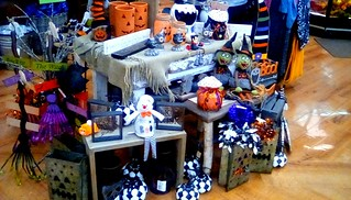 Supermarket Halloween display! Menominee Michigan